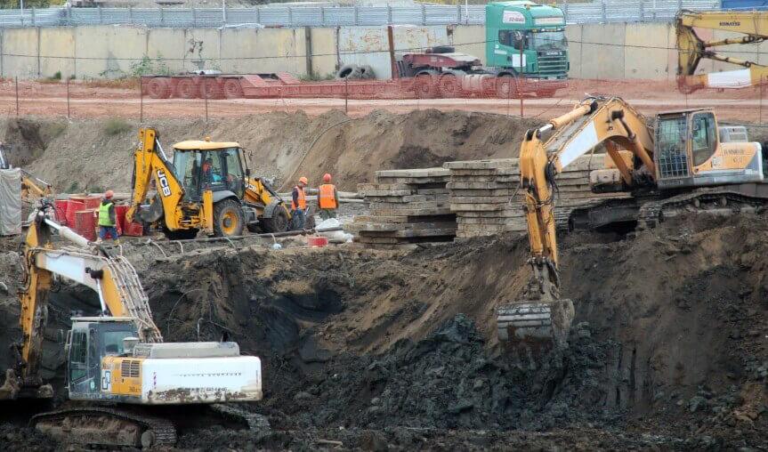 Осуществление строительных работ
